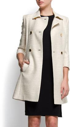 MANGO Double brested coat