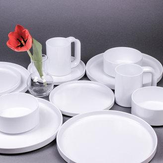 Heller Dinner Plate White Set of 4