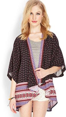 Forever 21 Wanderer Woven Kimono