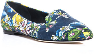 Dolce & Gabbana Audrey floral-print slippers