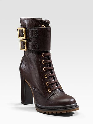 Tory Burch Donna Lace-Up Boots