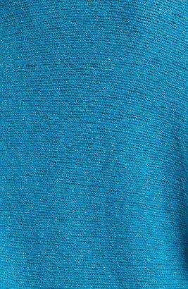 Eileen Fisher Oval Cut Airy Alpaca Sweater