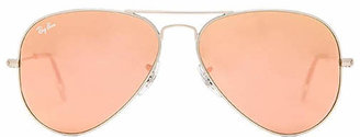 Ray-Ban Aviator Flash Lenses in Brown. $175 thestylecure.com