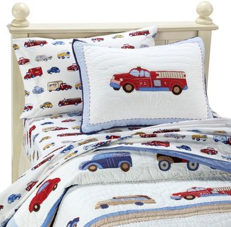 Whistle & Wink Cars and Trucks Quilt and Accessories