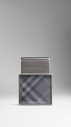 Burberry Enamel Check Money Clip