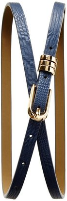 Banana Republic Lizard Skinny Belt