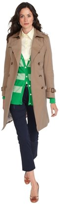 Brooks Brothers Cotton Trench Coat