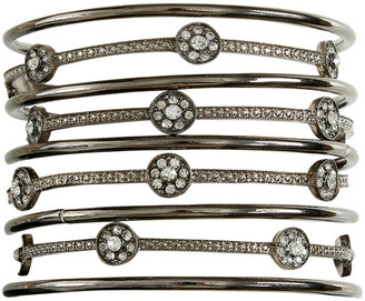 Arden B Station Stone Bangle Set