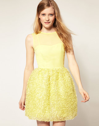 Asos Sequin Dress with Fitted Bodice