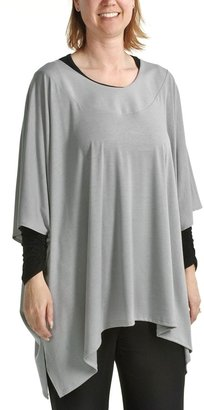 Tiana B Annalee and Hope by Jersey Oversized Tunic Shirt - Elbow Sleeves (For Women)
