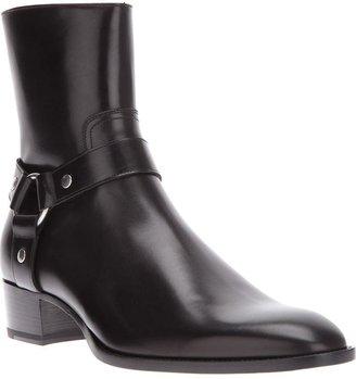 Saint Laurent zip boot