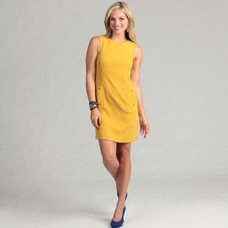 Eliza J Women's Mustard Sheath Dress $32.99 thestylecure.com