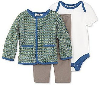 JCPenney Little MavenTM by Tori Spelling 3-pc. Cardigan Set - Boys newborn-9m
