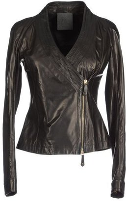 Trussardi Leather outerwear
