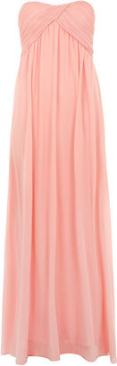 Dorothy Perkins Alice & You Prom pink bandeau maxi dress