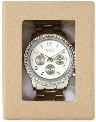 Forever 21 classic chronograph watch