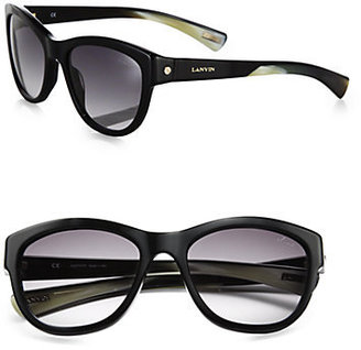 Lanvin Oversized Round Sunglasses