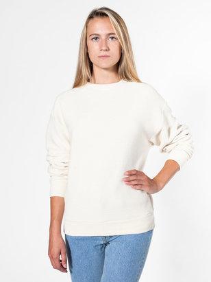 American Apparel Cotton Ottoman Rib Drop-Shoulder Pullover