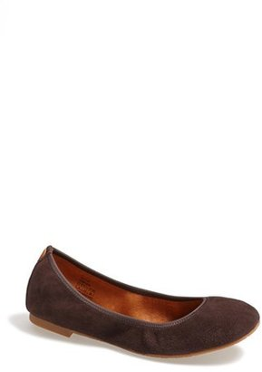 Juil 'The Flat' Earthing Suede Ballet Flat