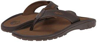 OluKai Ohana (Black/Dark Shadow) Men's Sandals