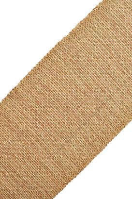 Carolina Bucci Woven 18-karat gold, diamond and silk cuff