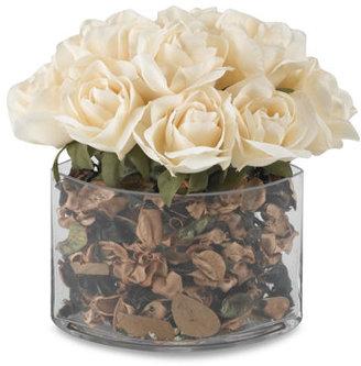 Bed Bath & Beyond Large Glass Potpourri Roses