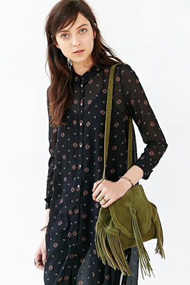 Urban Outfitters Ecote Sahara Suede Convertible Mini Backpack