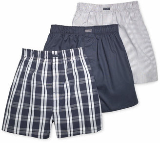 Calvin Klein Men's Classic Plaid Boxers 3-Pack U1732 $39.50 thestylecure.com