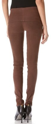 Donna Karan Fold Over Tube Pants