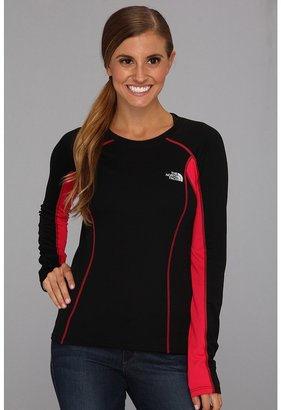 The North Face GTD L/S (TNF Black/Rose Red) Women's Workout