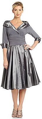Jessica Howard Portrait-Collar Party Dress $99 thestylecure.com