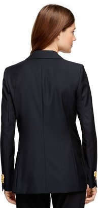 Brooks Brothers Classic Single-Breasted Blazer