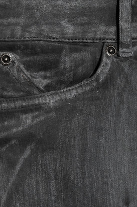 Superfine Rider motocross-style low-rise skinny jeans