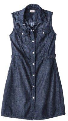 Mossimo Juniors Sleeveless Denim Dress - Assorted Colors