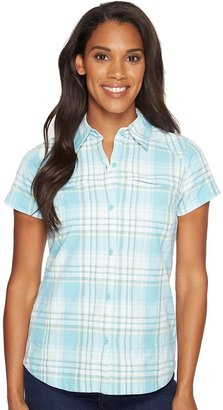 Columbia - Silver Ridge Multiplaid S/S Shirt Women's Short Sleeve Button Up $50 thestylecure.com