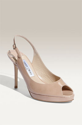 Jimmy Choo 'Nova' Patent Leather Slingback Pump