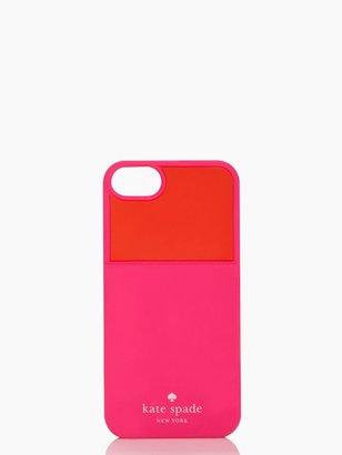 Kate Spade Color block pocket iphone 5 case