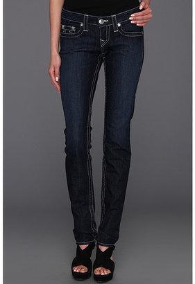 True Religion Stella Low-Rise Skinny Leg in Lonestar