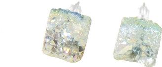 Noémiah Raw Quartz Pastel Blue Crystal