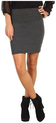 Gabriella Rocha Ashlie Pencil Mini Skirt (Charcoal) - Apparel