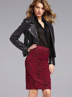Victoria's Secret Lace Pencil Skirt