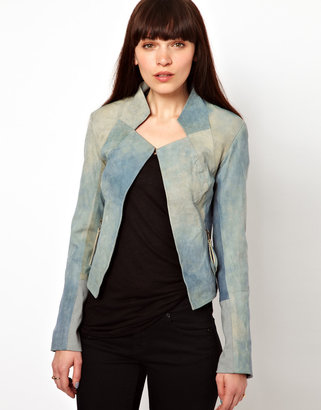 Improvd Sable Leather Jacket