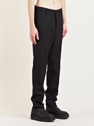 Rick Owens Men's Virgin Wool Tailored Pants