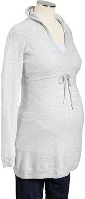 Old Navy Maternity V-Neck Hooded-Drawstring Pullovers