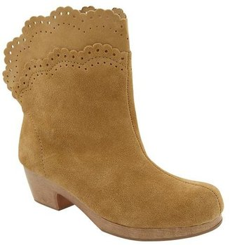 Gap Scalloped suede boots