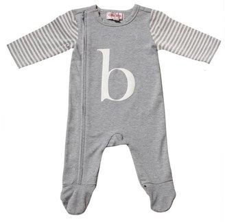 Oliver Bonas Olly B's Alphabet Sleepsuit