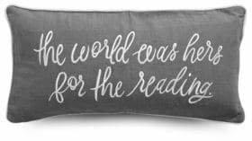 Kate Spade The World Was Hers Rectangular Pillow