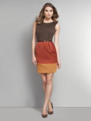 New York & Co. Colorblock Sheath Dress