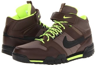 Nike SB - Mogan Mid 2 OMS (Baroque Brown/Volt/Black) - Footwear