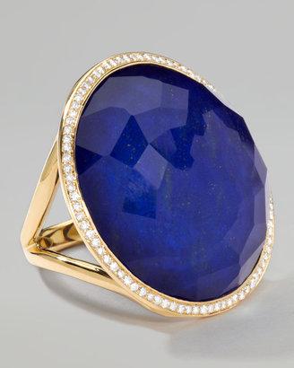 Ippolita Rock Candy Large Lollipop Diamond Lapis Ring